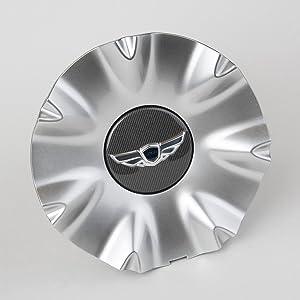 HYUNDAI Genesis Sedan Wing Center Caps (Set of 4) for 14 Spoke Wheel