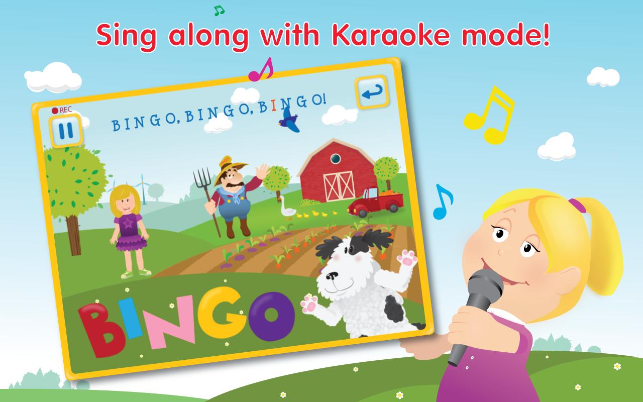 Amazon Com Bingo Song Hd Sing Along Nursery Rhyme For