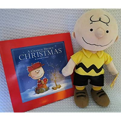 """Peanuts Collection Bundle--Charlie Brown 12"""" Plush and """"A Charlie Brown Christmas"""" Hardback Book by Kohl's Cares: Toys & Games"""
