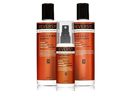 Champú y Acondicionador Pelo Crecimiento Tratamiento Set para reducir la pérdida de cabello y aumentar el