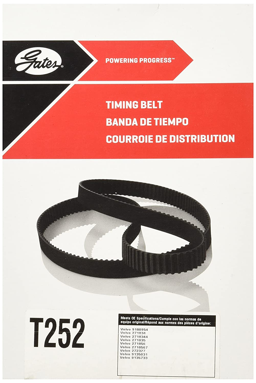 Gates T252 Timing Belt