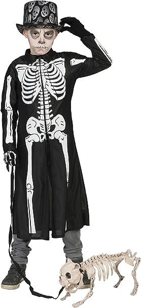 Halloween Kostuem Skelett Amazon.Zauberclown Halloween Karneval Kostum Horror Brautigam Skelett 164 14 Jahre Schwarz Amazon De Spielzeug