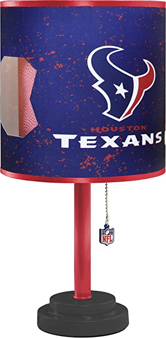 Amazon nfl houston texans table lamp with die cut lamp shade nfl houston texans table lamp with die cut lamp shade aloadofball Choice Image