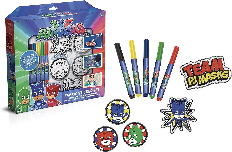 Canal Toys – PJ máscaras Patches de para Colorear, Pjc 001