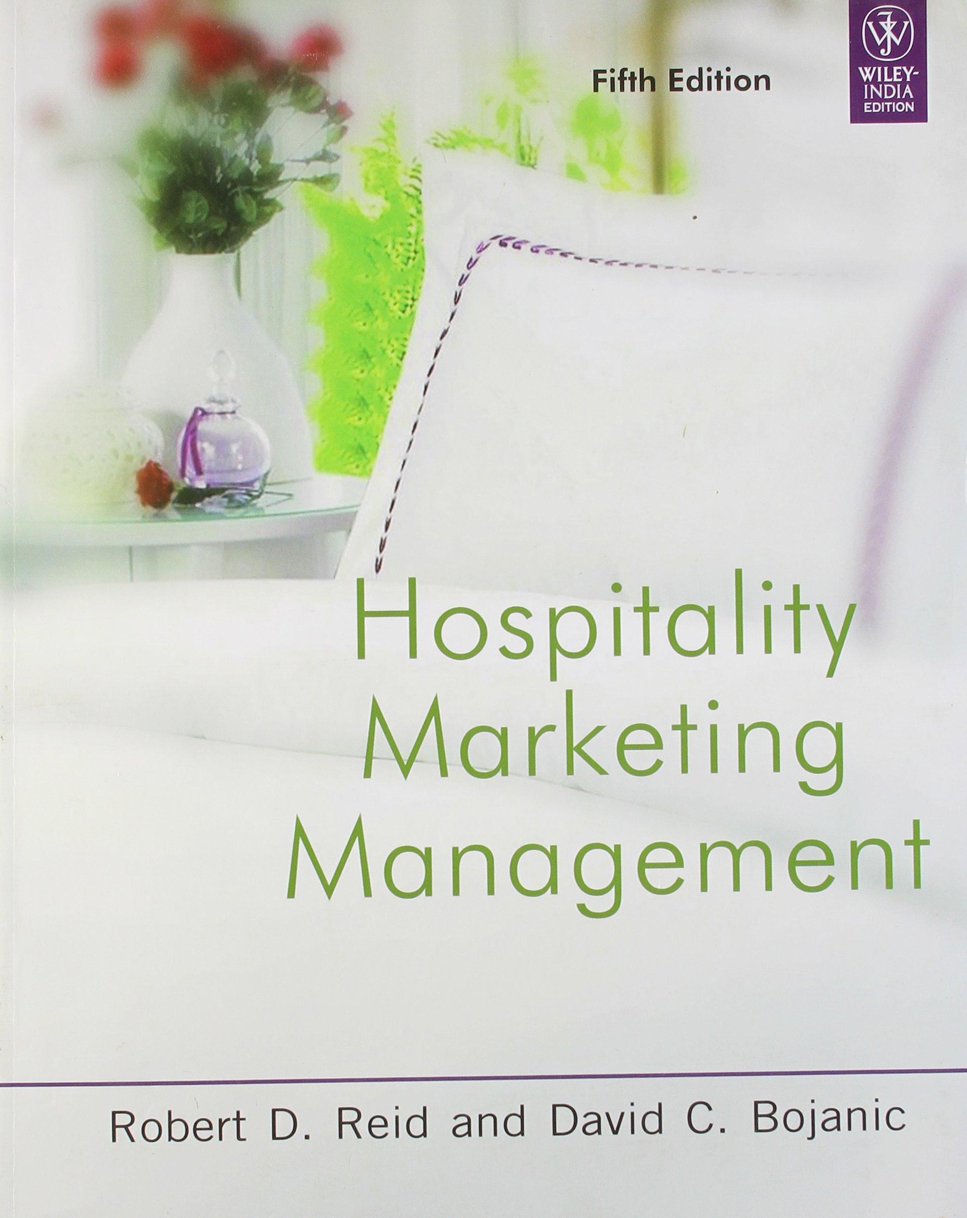 Hospitality Marketing Management 5th Edition ebook