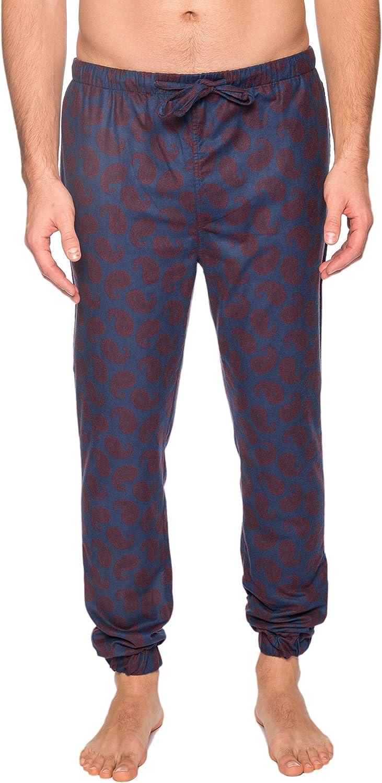 Twin Boat Men's 100% Cotton Flannel Jogger Lounge Pant