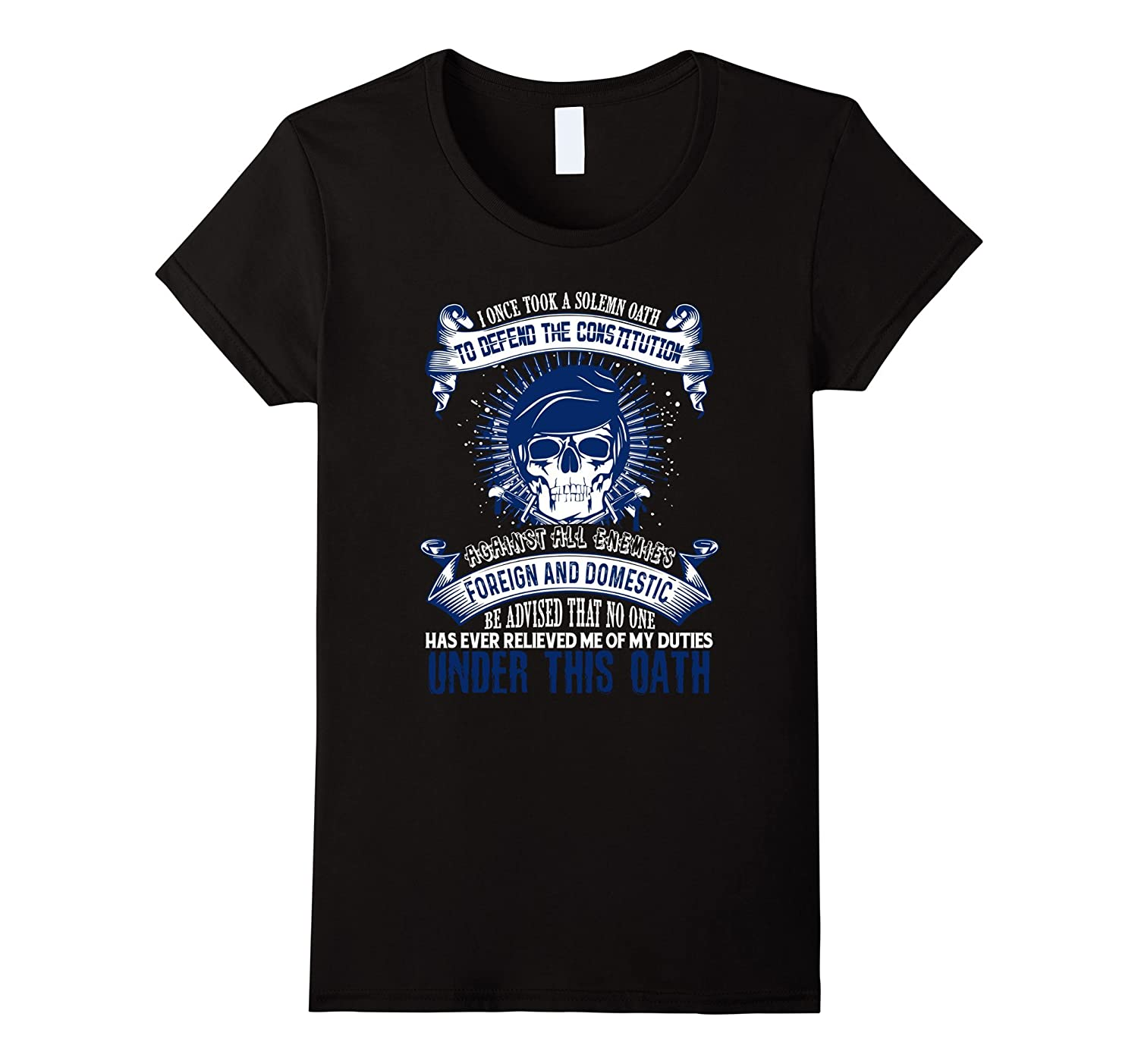 Against All Enemies Foreign And Domestic T Shirt