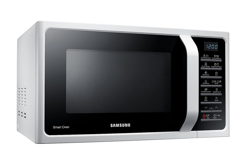 Samsung MC28H5015AW - Microondas (230V, 50 Hz, 51,7 cm, 47,56 cm, 31 cm) color blanco