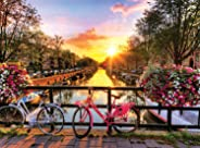 Buffalo Games - Cycling in Amsterdam - 1000 Piece Jigsaw Puzzle