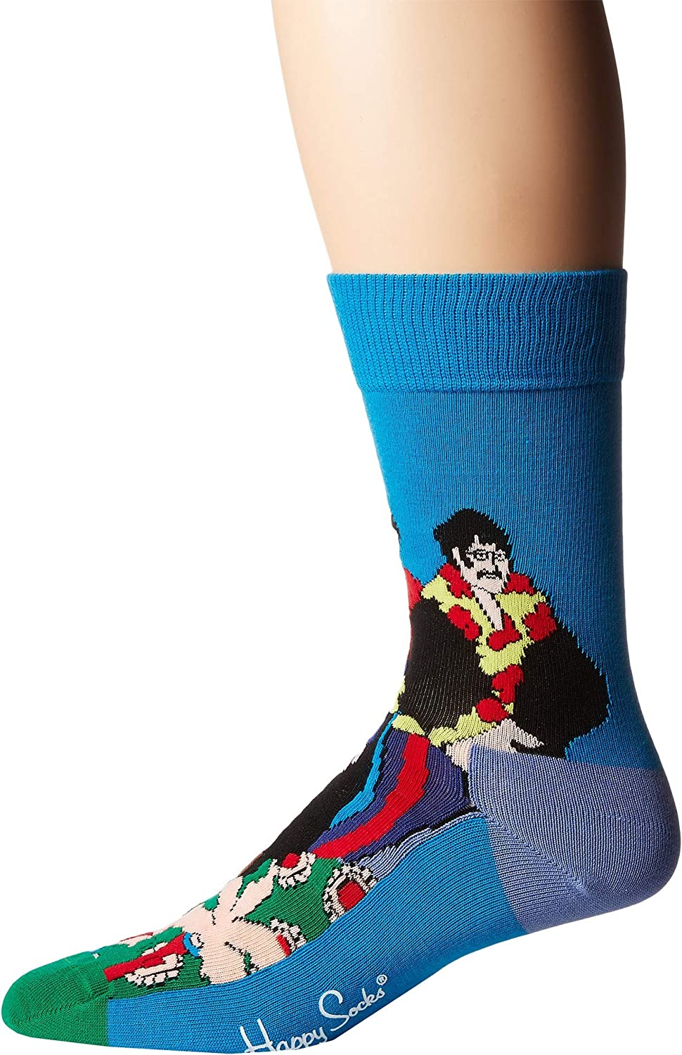 Happy Socks Men's Beatles Flower Power Sock