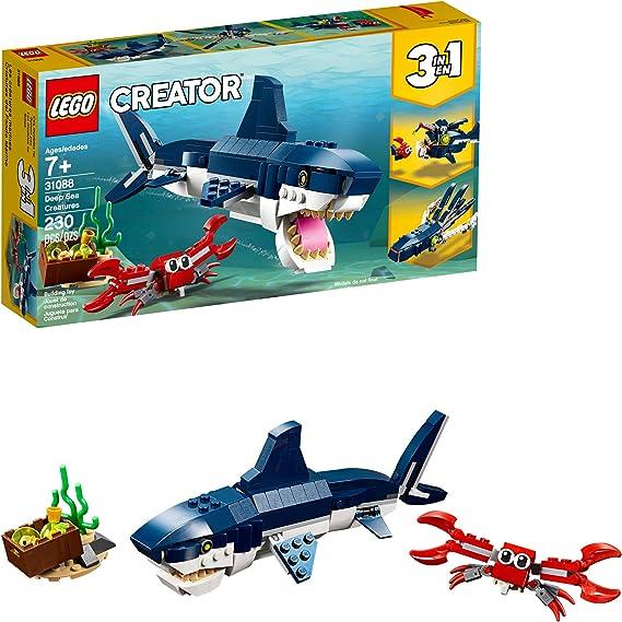 LEGO Creator 3in1 Deep Sea Creatures 31088 Make a Shark