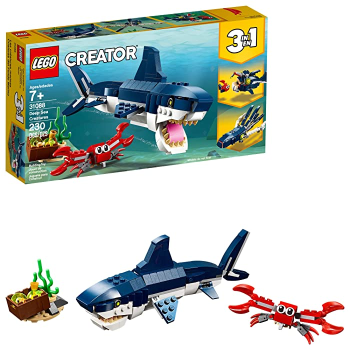 Top 9 Lego Shark Sets
