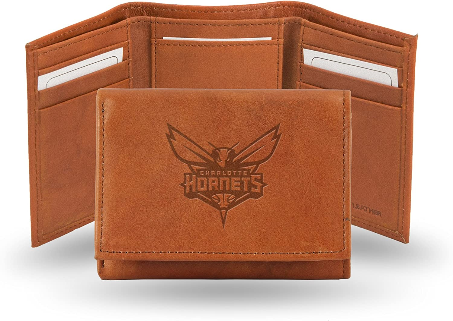 Rico Industries Fan Shop Embossed Leather Trifold Wallet