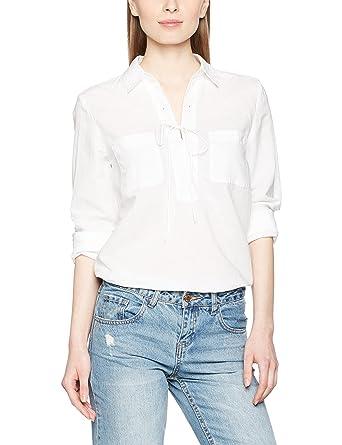 845ec15040da8f Marc O'Polo Damen Bluse 704084242047, Weiß (White 100), ...