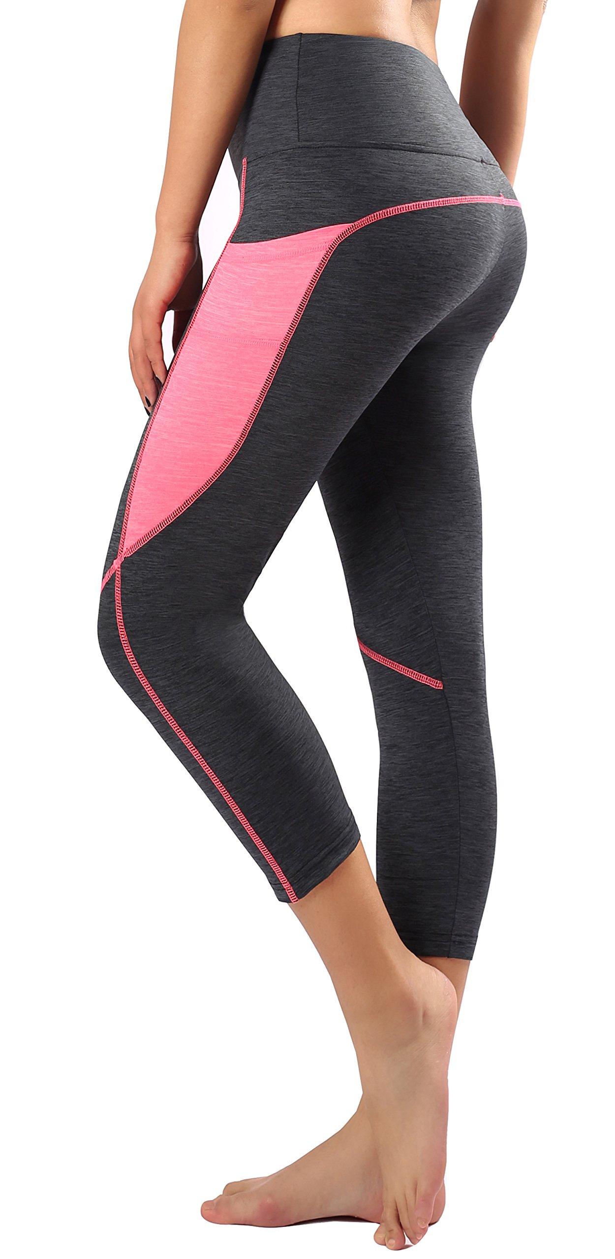 Sugar Pocket Legging de Sport Femme Stretch Yoga Jogging Fitness Running  Taille Haute avec Poche 15c727be359