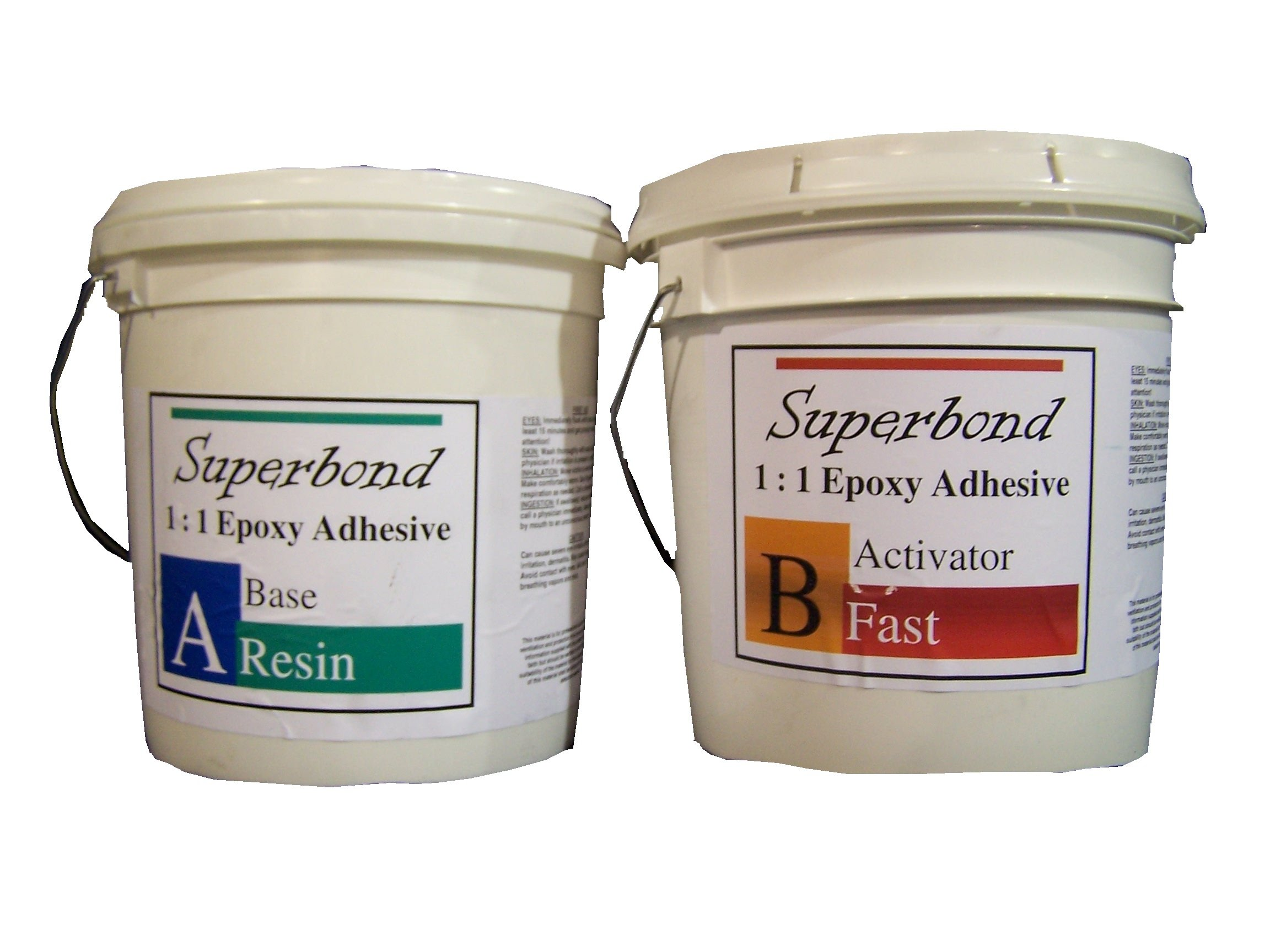 Epoxy Superbond Resin, 2 Gallon Kit, Fast Cure Includes Part A & B by Fiberglass Coatings