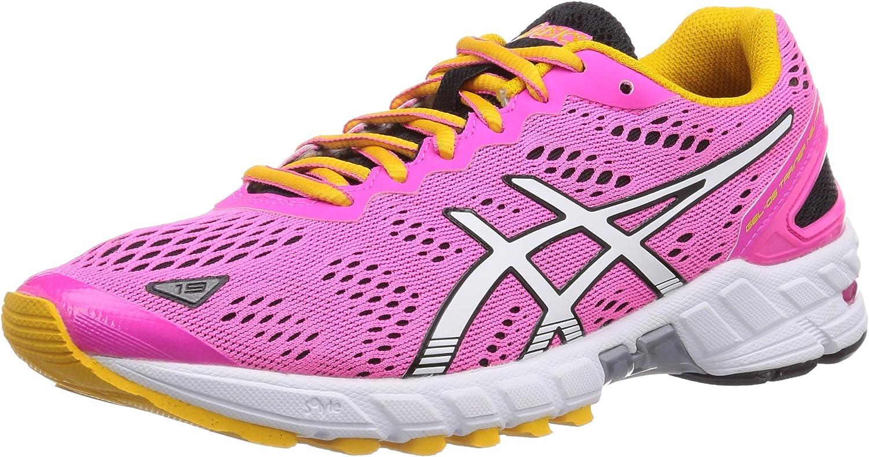 ASICS Gel-DS Trainer 19 Neutral - Zapatillas De Correr En Montaña para Mujer, Color Rosa (3501-neon Pink/White/Schwarz), Talla 37: Amazon.es: Zapatos y complementos