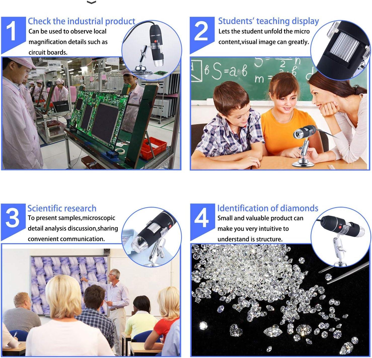Camera & Photo USB Microscopes ghdonat.com Compatible for Android ...