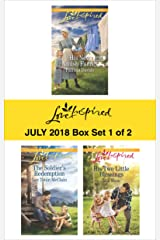 Harlequin Love Inspired July 2018 - Box Set 1 of 2: His New Amish Family\The Soldier's Redemption\His Two Little Blessings Kindle Edition