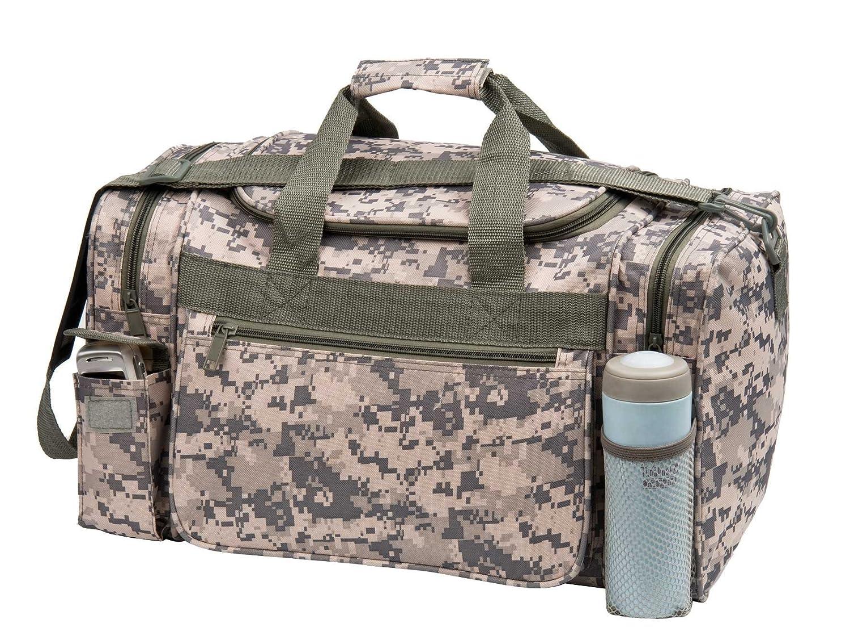 Amazon ACU Duffel Bag Digital Camouflage Gym Travel Sports Outdoors