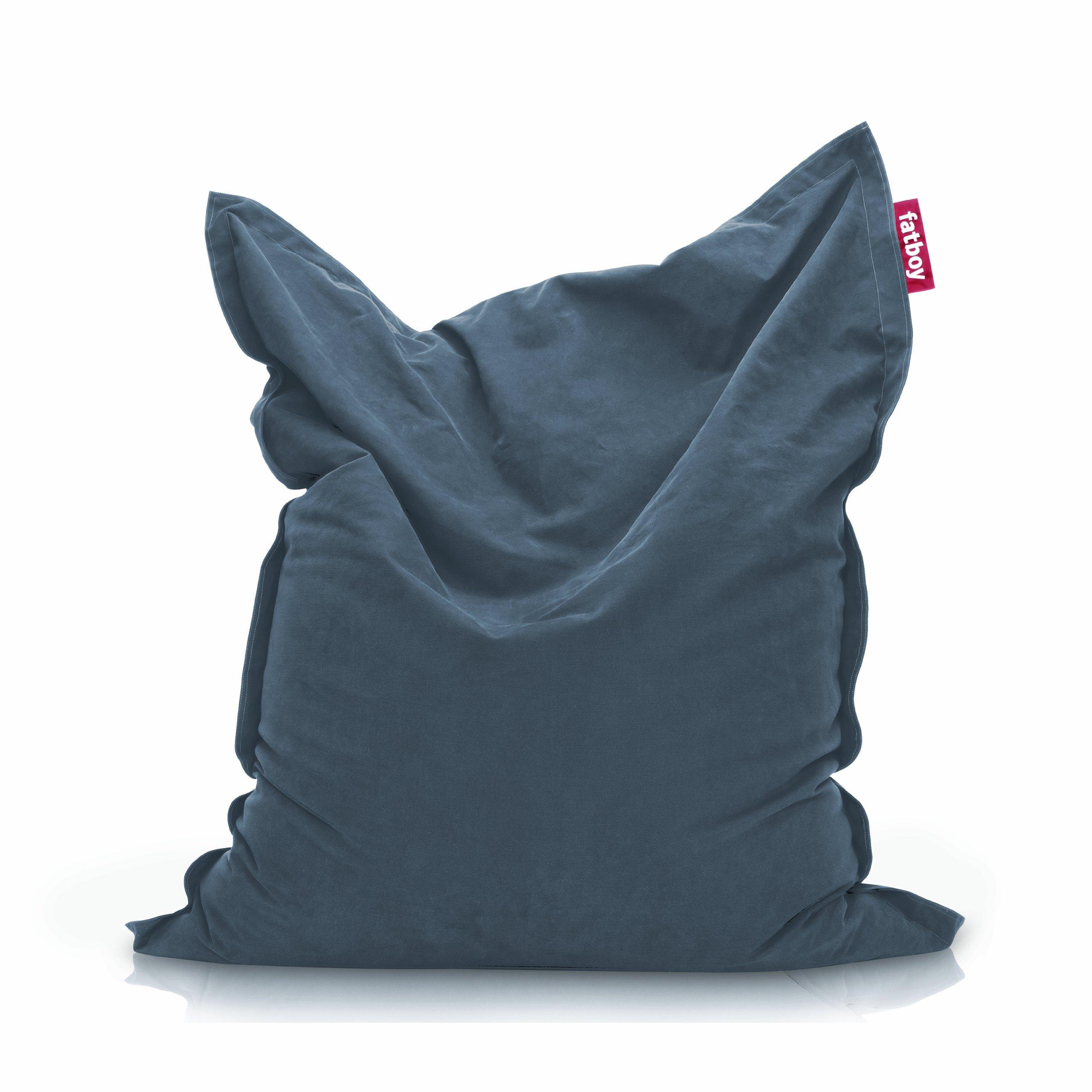 Fatboy The Original Stonewashed Bean Bag, Blue