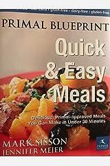 Primal Blueprint Quick & Easy Meals Hardcover