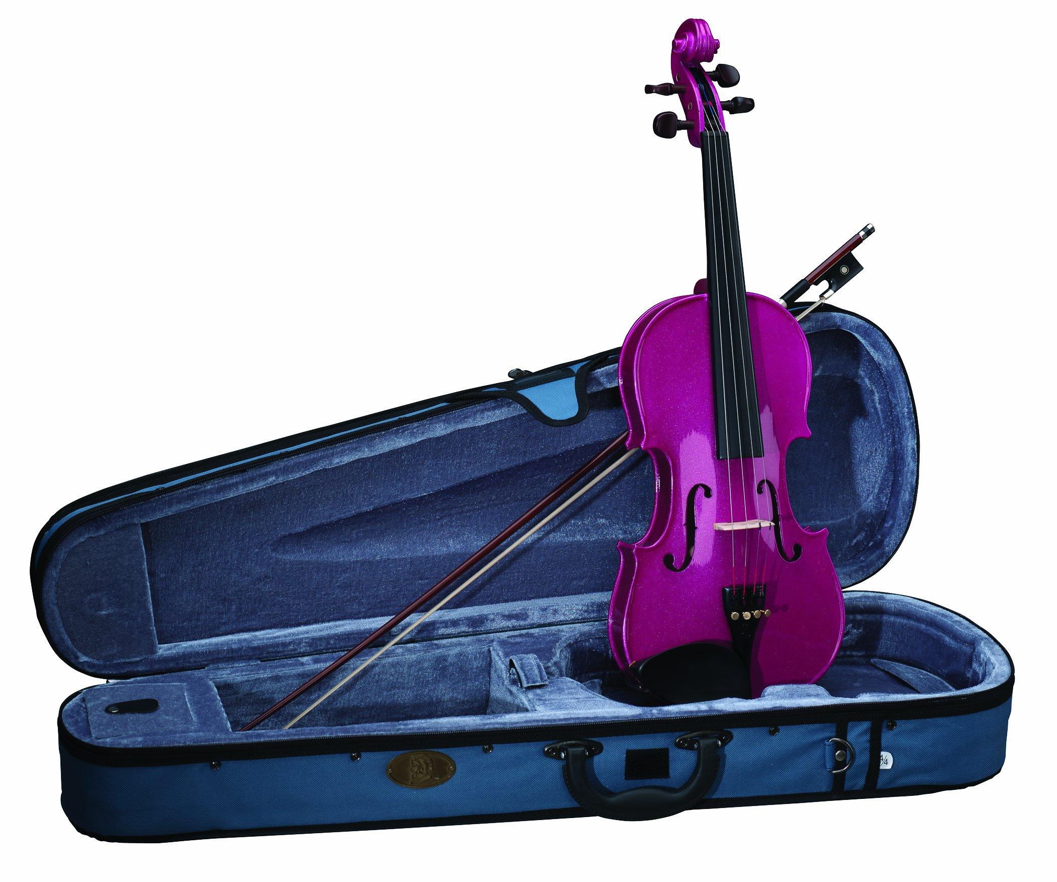 Stentor, 4-String Violin, Pink, 4/4 (1401PK-4/4)