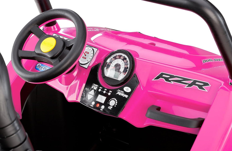amazoncom peg perego polaris rzr 900 ride on pink toys games