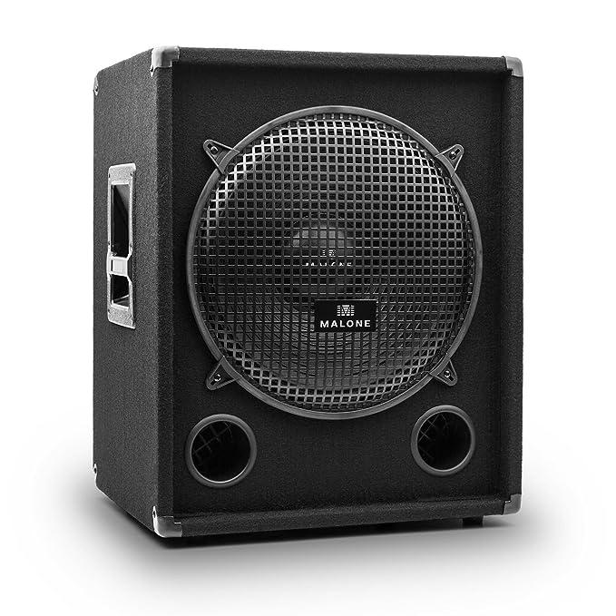 1 opinioni per Malone PW-1015 Sub PA subwoofer passivo (1000W, diffusore acustico sub PA di