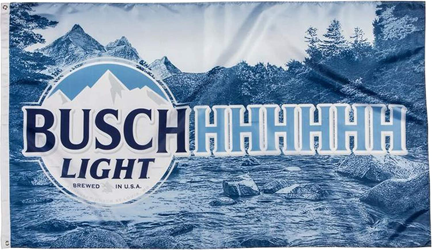 Buschhhhhhh Light Beer Flag