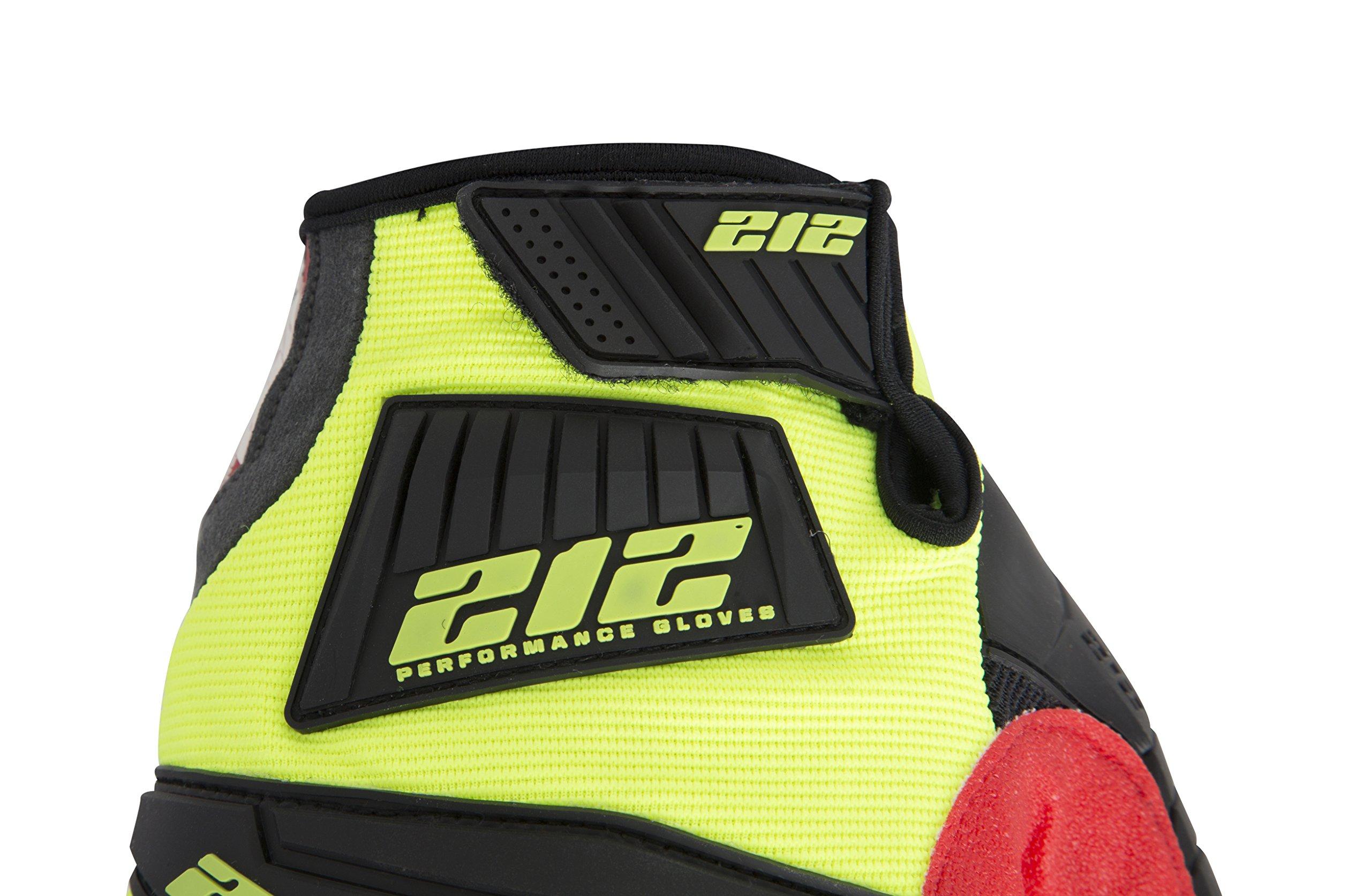 212 Performance Gloves IMP-88-009 Super Hi-Vis Impact Gloves, Medium by 212 Performance Gloves (Image #4)