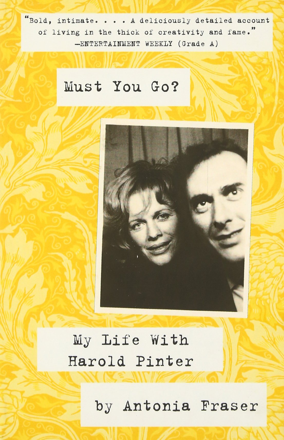 My Life With Harold Pinter: Lady Antonia Fraser: 9780307475572: Amazon:  Books