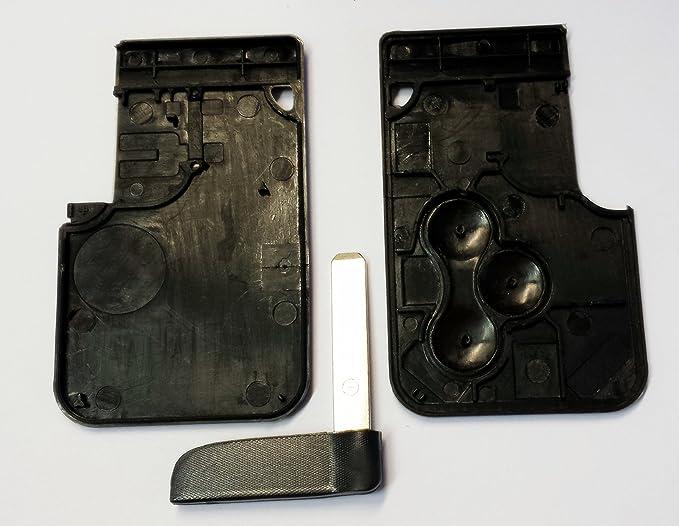 Kis® 3Tasten Llave Tarjeta Caja Para Renault Megane Key ...