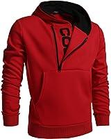 Coofandy Men's Fashion Thicken Hoodie Casual Sweatshirts Slim Fit Jacket …