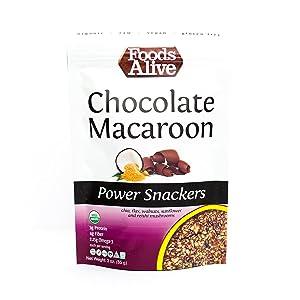 Power Crackers, Chocolate Macaroon, Organic, 3oz (6-pack)