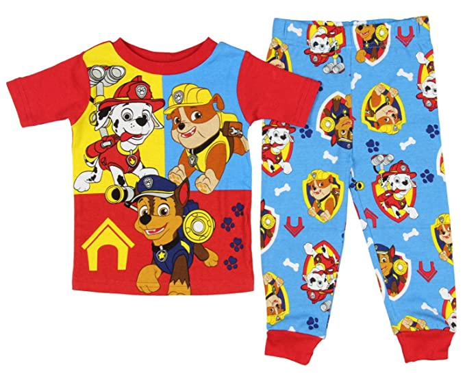 d53cfd4df Amazon.com  Paw Patrol Baby Toddler 2 Piece Short Sleeve Pajama ...