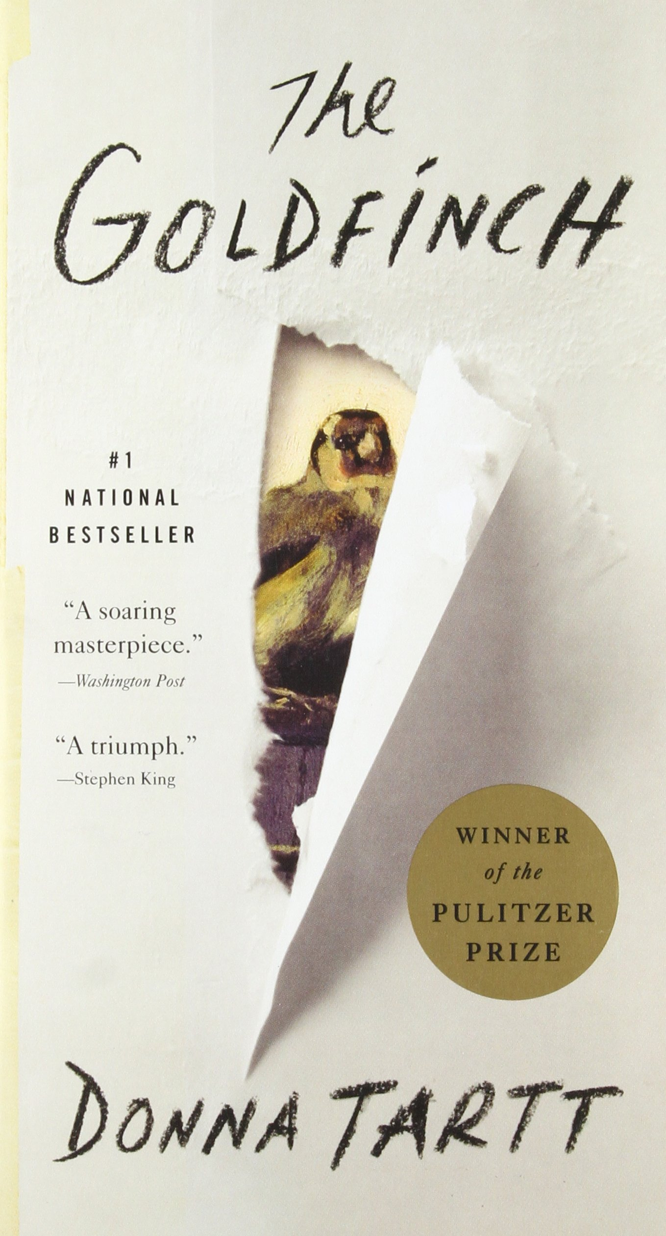 The Goldfinch: A Novel (Pulitzer Prize for Fiction): Tartt, Donna:  9780316055420: Amazon.com: Books