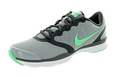 Womens Shoes Nike In-Season TR 4 Wolf Grey/Dark Grey/White/Green Glow