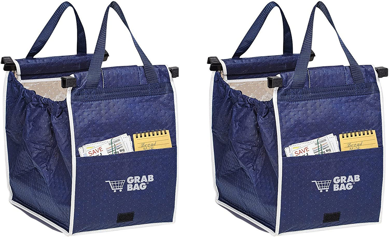 Amazon.com: Bolsa de compras reutilizable con aislante para ...