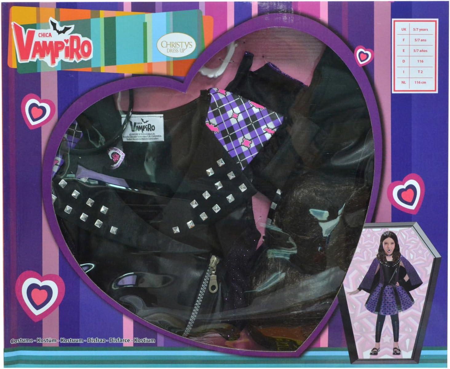 Disfraz Chica Vampiro niña: Amazon.es: Juguetes y juegos