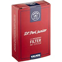 Dr. Perl Filter Filtro de carbón activo Junior Jubox 100 de 9 mm, color rojo, 10 x 8 x 5 cm