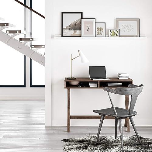 Nathan James Kalos Home Office Computer Desk or Makeup Vanity Table
