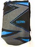 THERMOS(サーモス) 真空断熱2ウェイボトル FFR-804WF ハンディポーチ ストラップ イナズマブラック