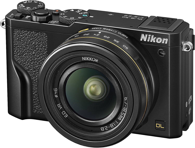 Nikon Compact Cameras Dl 18 50 Mm F 1 8 2 8 Black Camera Photo