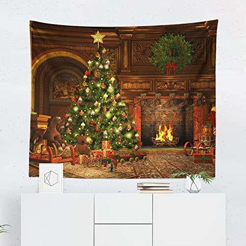 christmas tapestry wall tapestries hangings decor decorative art