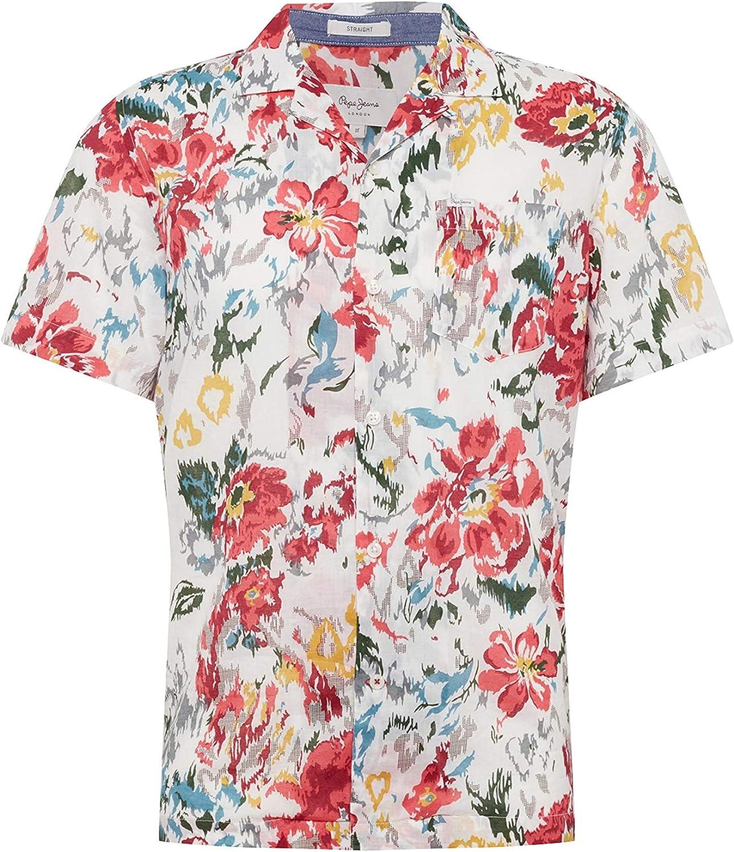 Pepe Jeans Camisa Keanu Multi Hombre XS Multicolor: Amazon.es: Ropa y accesorios
