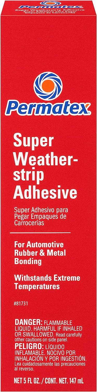 Permatex 81731 Super Weatherstrip Adhesive, 5 oz.