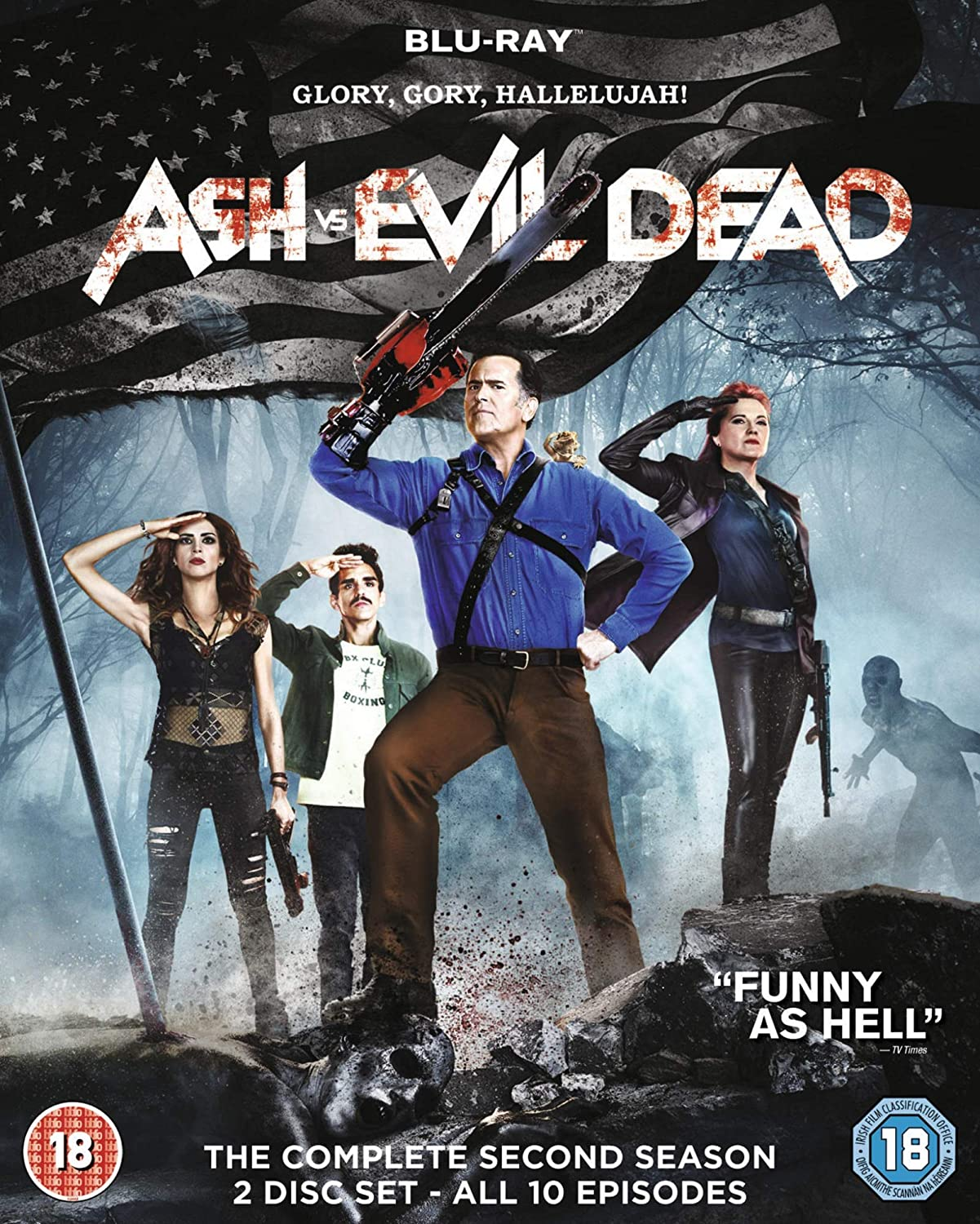 Ash Vs Evil Dead The Complete Second Season Blu Ray Amazon Ca Dvd