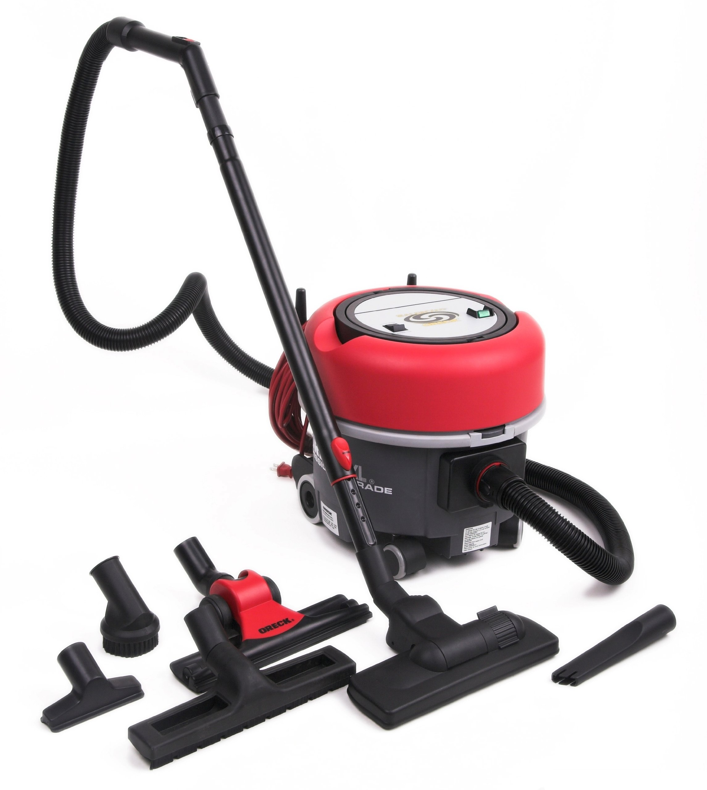 Oreck Commercial COMP6 Compacto 6 Canister Vacuum, 1.4 HP