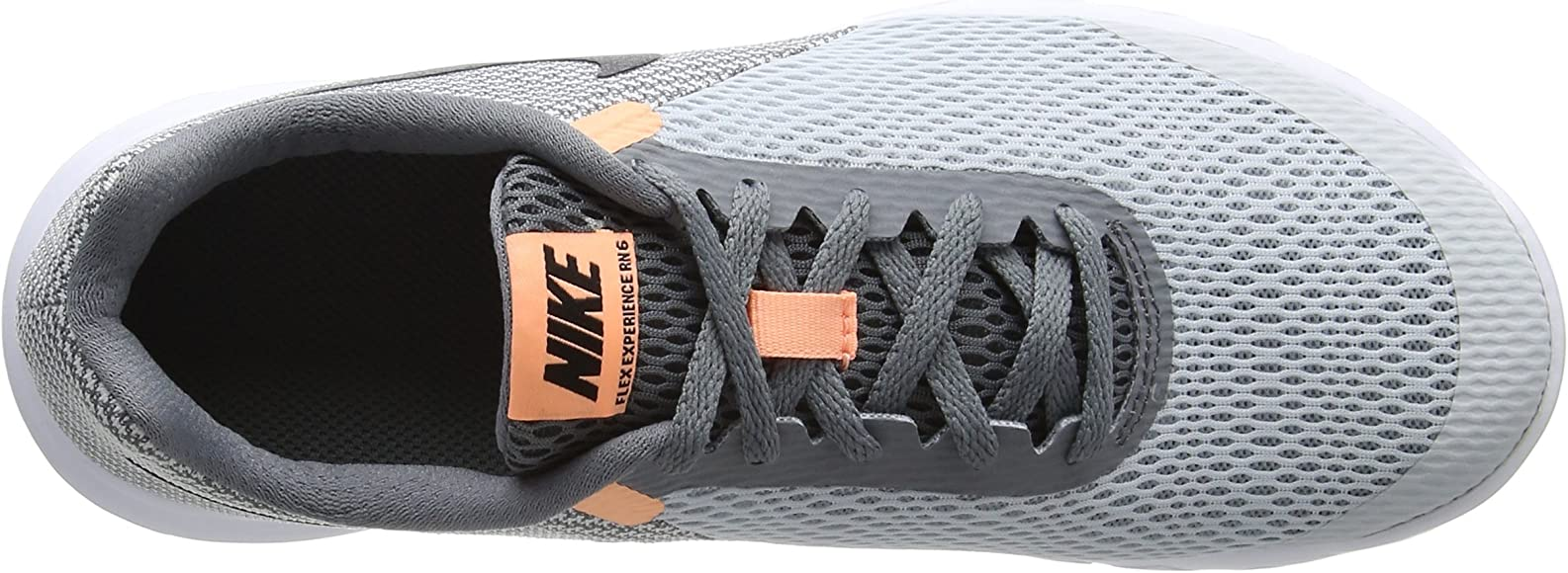 Nike Flex Experience RN 6, Zapatillas de Running para Mujer, Pure Platinum Black Cool Grey Sunset GLO, 36 EU: Amazon.es: Zapatos y complementos